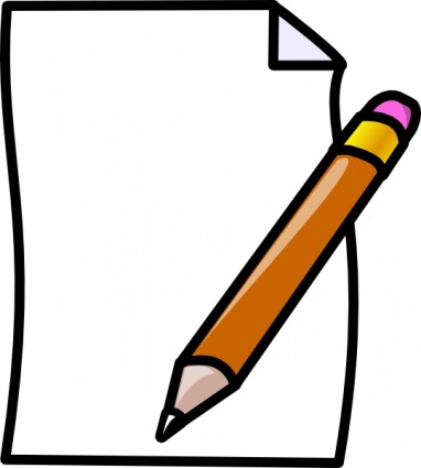 Pen clipart notes paper Art Clipart Pencil Clipart ·