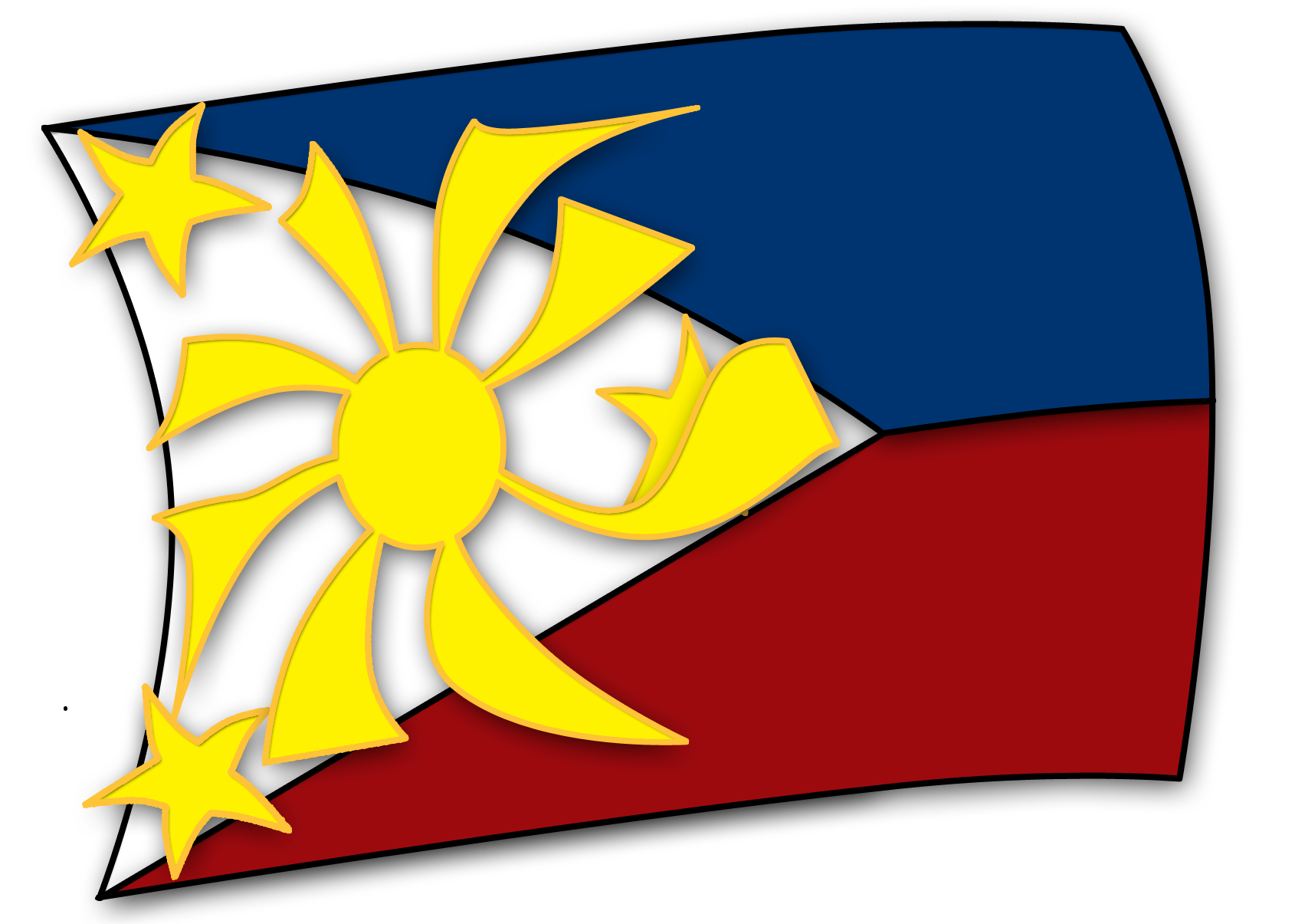 History clipart philippine Of Art Free Philippines Flag