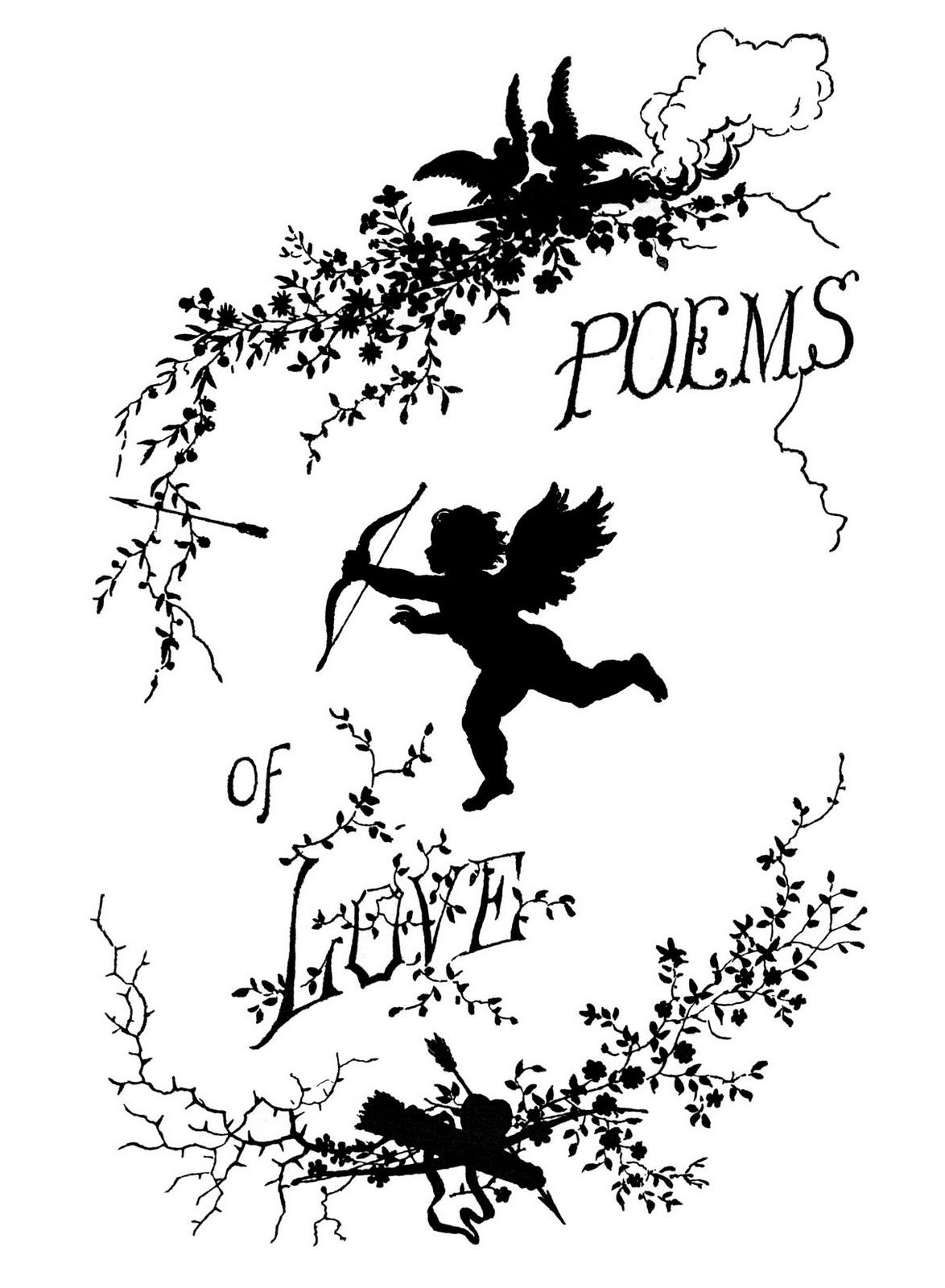 Cupid clipart antique Clip Art Vintage Poet Download