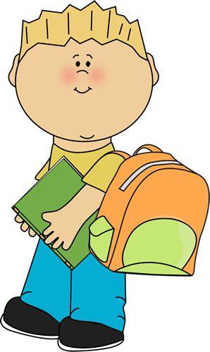 Little Boy clipart school boy Pinterest Boy colorful to School