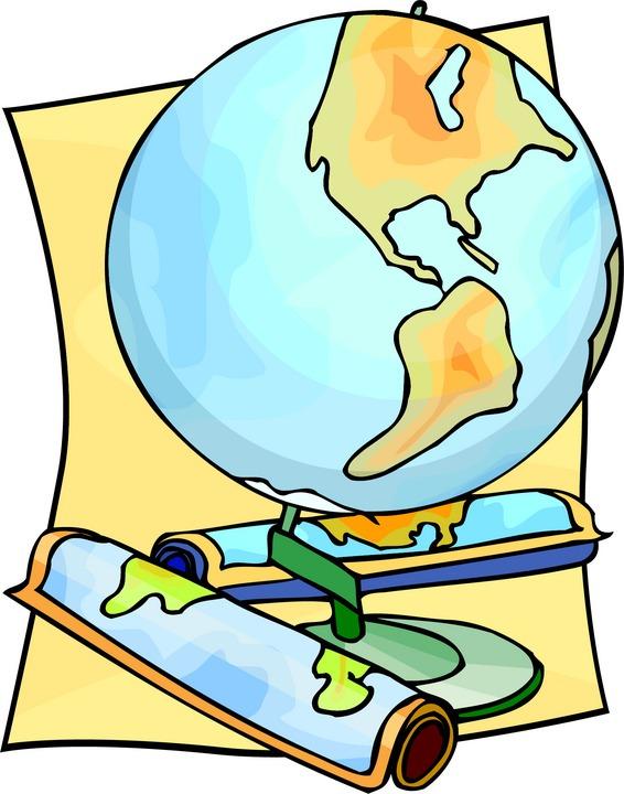 Geography clipart cute Social studies grade Social clipart