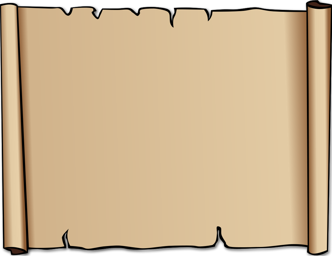 Drawn scroll paper border Pictures: Nice background transparent clipart