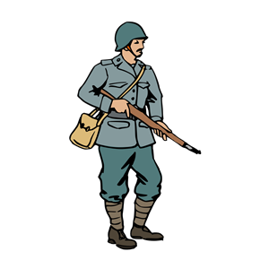 History clipart two Clipart WW2 emf Tags: Soilder