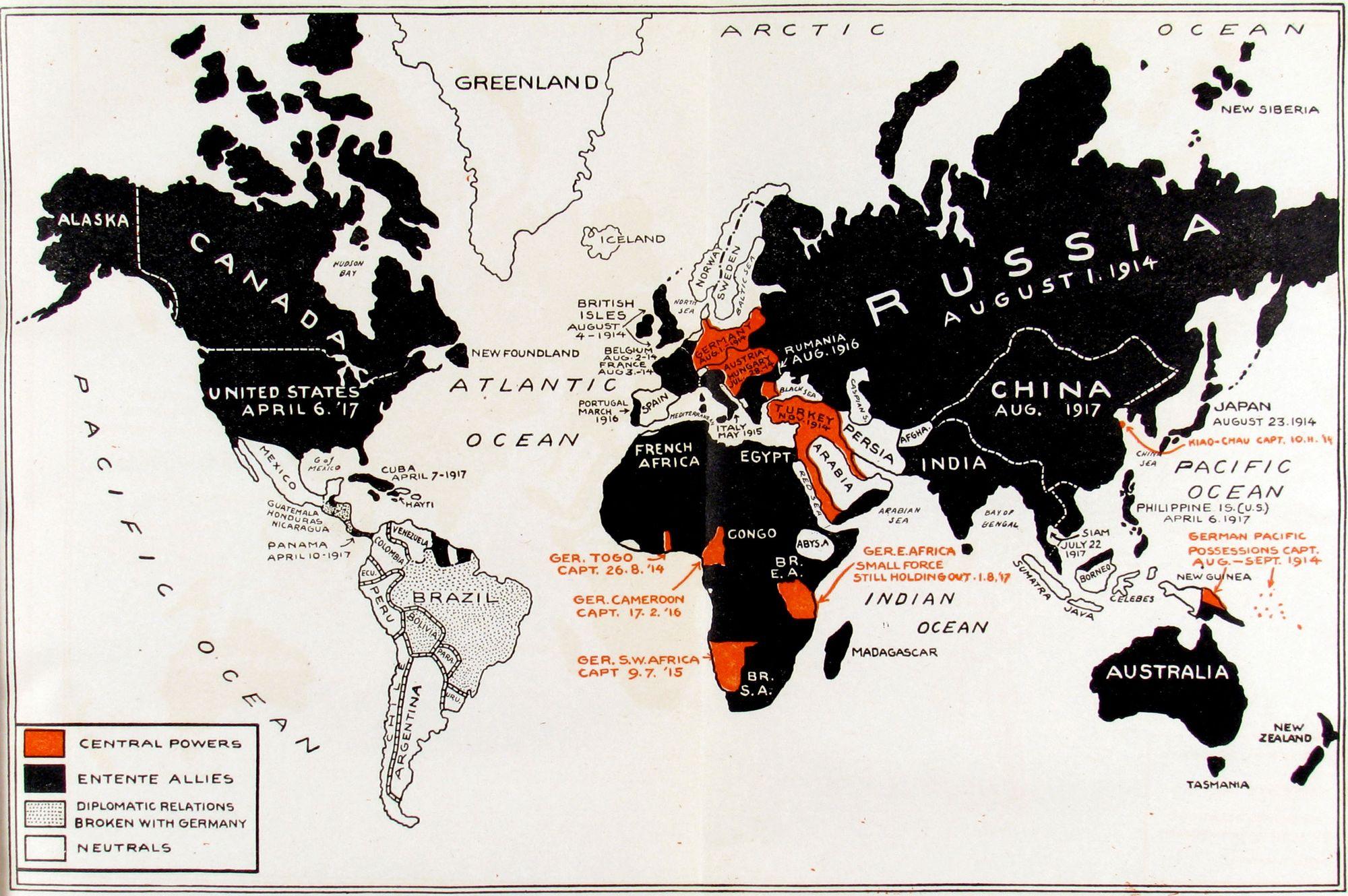 Invasion clipart world war 1 #6