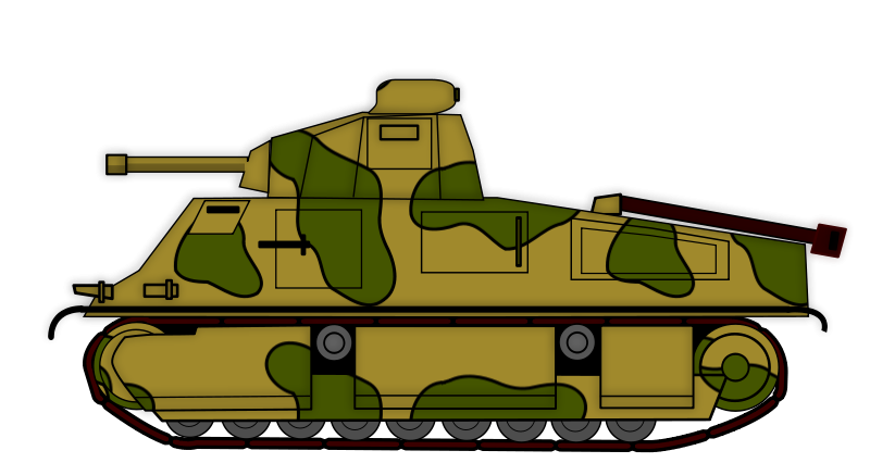 Soldiers clipart wwii S35 Clip Char Wwii Somua