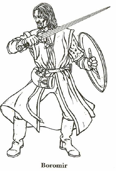 Hobbit clipart coloring page Pinterest images Colouring on the