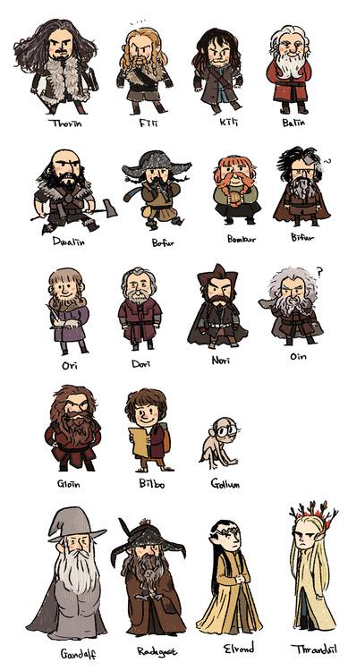Hobbit clipart gollum Gandalf hobbit the and radagast