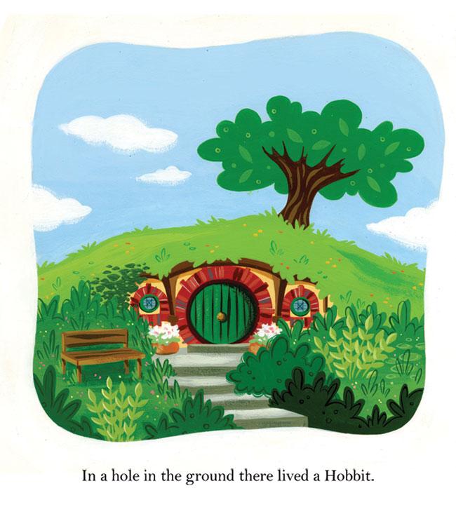 Hobbit clipart tolkien A Little Books (Bag End