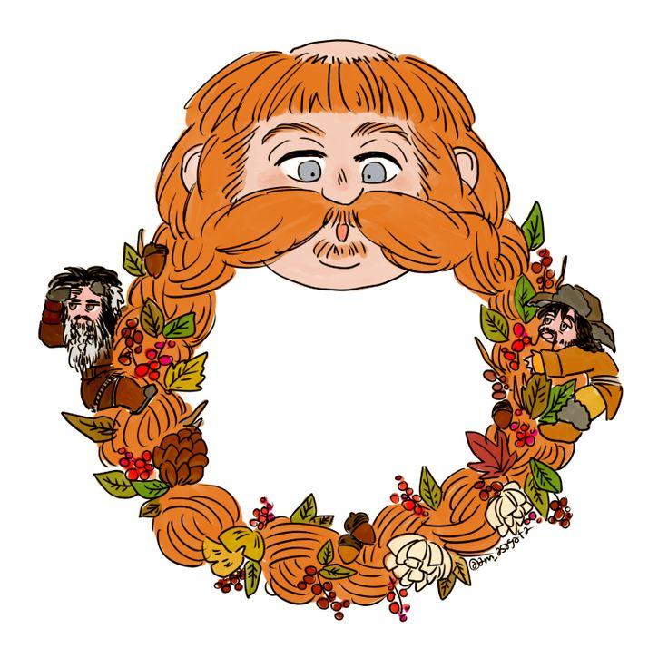 Hobbit clipart tolkien Autumn bombur images Pinterest Hobbit