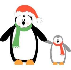 Penguin clipart holiday Clipart Holiday Holiday Free Christmas
