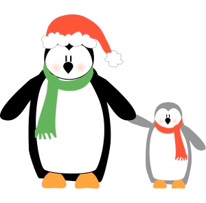 Holiday clipart Christmas Penguins ShareHoliday Holiday Clipart