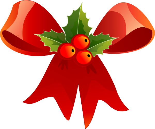 Holley clipart christmas symbol Com Cliparting clipart bow kid