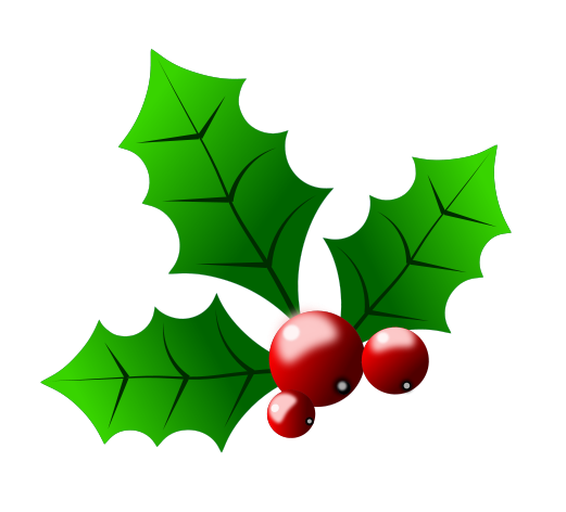 Holley clipart christmas symbol Free Images Panda clipart holly