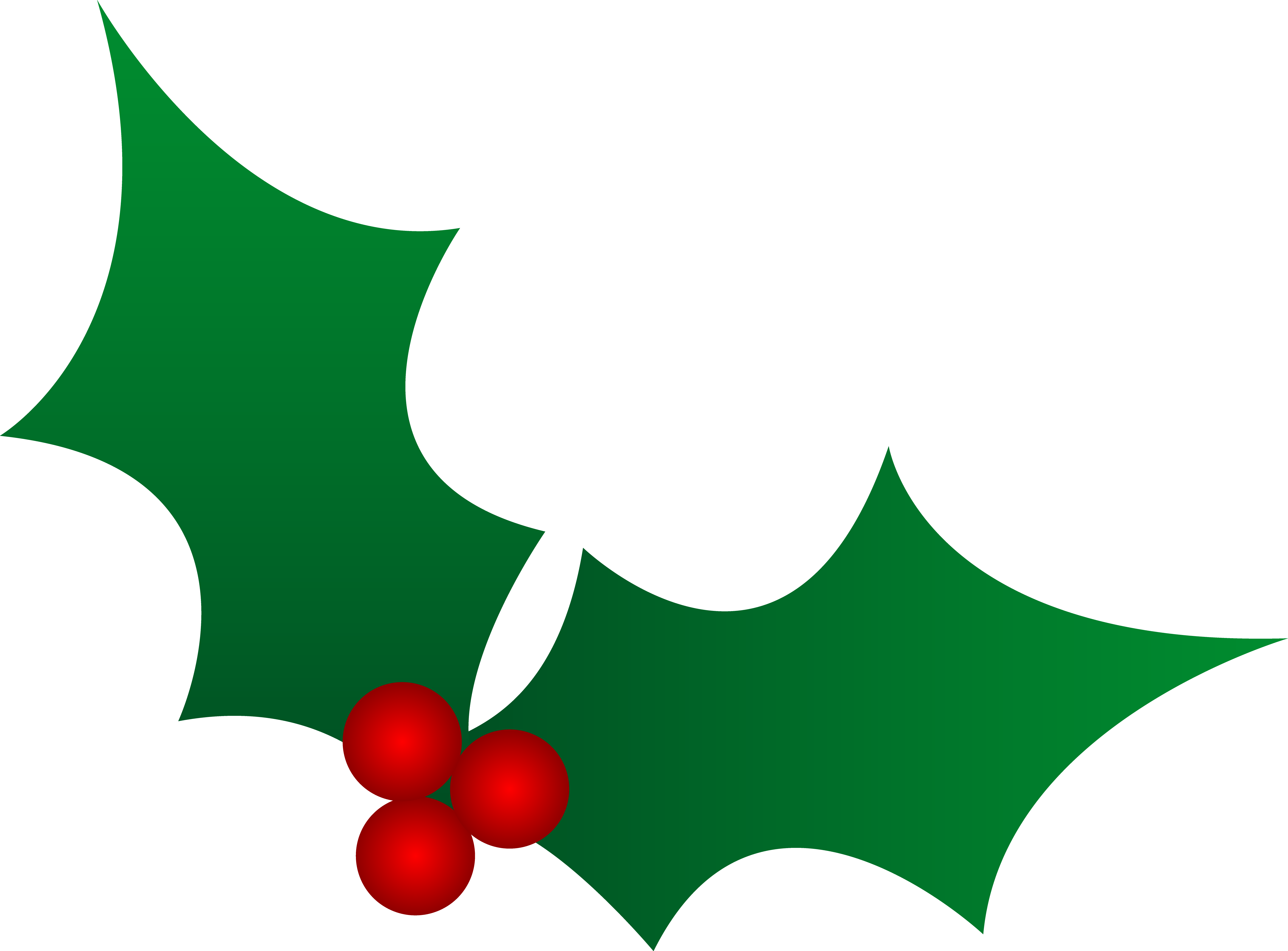 Holley clipart Art Free christmas holly Christmas