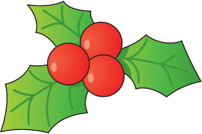 Holley clipart christmas symbol Clipart com Holly art clip