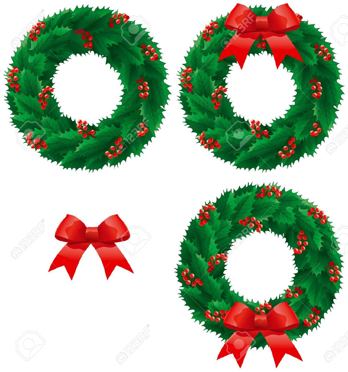 Holley clipart border Royalty holly 564 Clipground Free