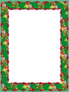Holley clipart border landscape Borders Christmas Free and holiday