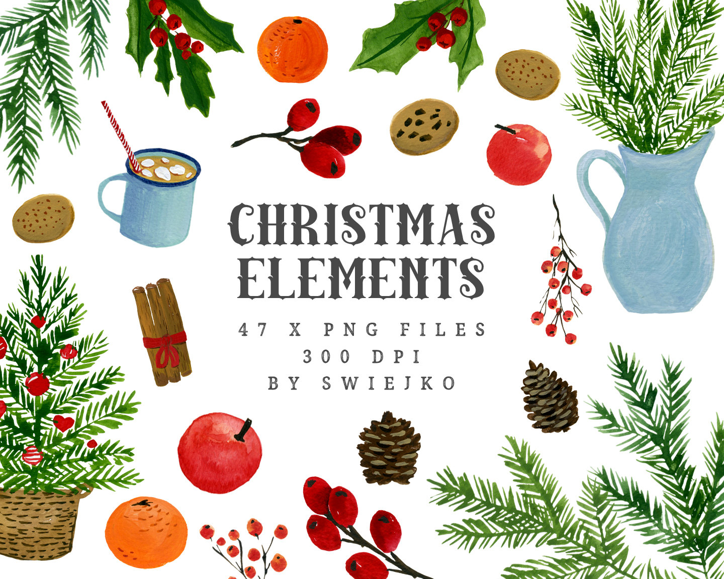 Holley clipart christmas food Is Clip clipart file Elements