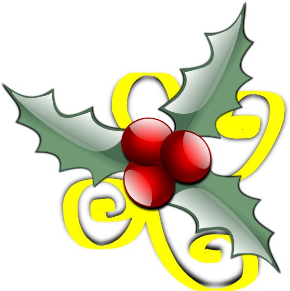 Holley clipart christmas food Clip vector online Decorations Pinterest