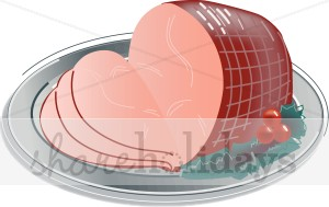 Holley clipart christmas food Christmas  Sliced with a