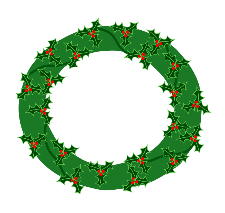 Wreath clipart transparent background Clipart Christmas clip and images