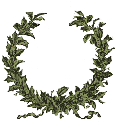 Holley clipart christmas greens Images Clipart Garland Clipart Clipart