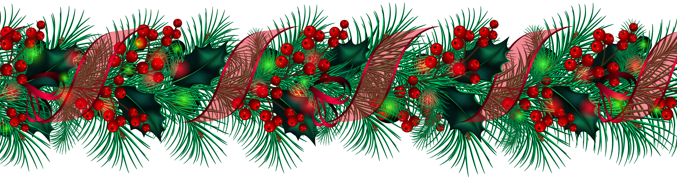 Holley clipart christmas greens Gallery Clipart Christmas  Transparent