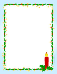 Holley clipart christmas letter Christmas christmas Papers Letter Printable
