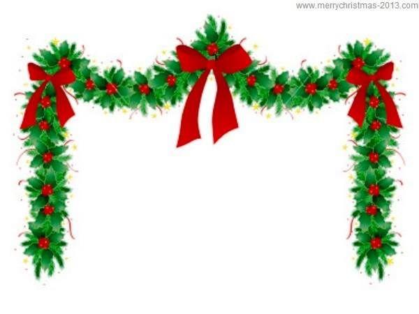 Holley clipart christmas presents border Pinterest Free christmas borders Clip