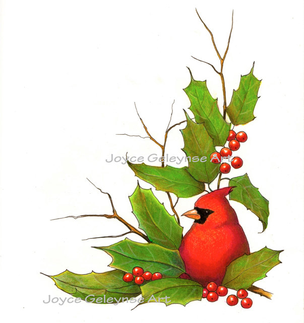 Holley clipart christmas scene Bird With 50 $2 Bird