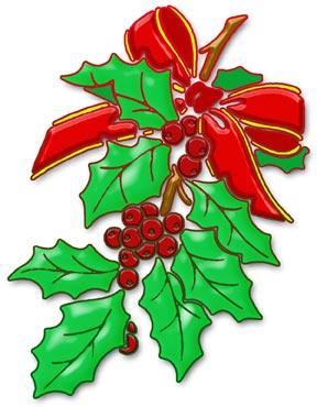Holley clipart christmas scene Christmas Art Clip Clipart Scene