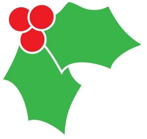 Leaves clipart xmas #9