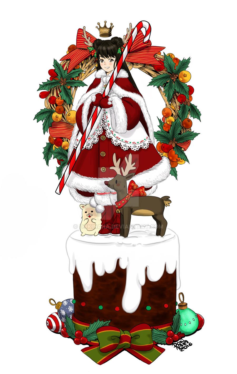 Holley clipart christmas spirit Christmas on by Nana Christmas