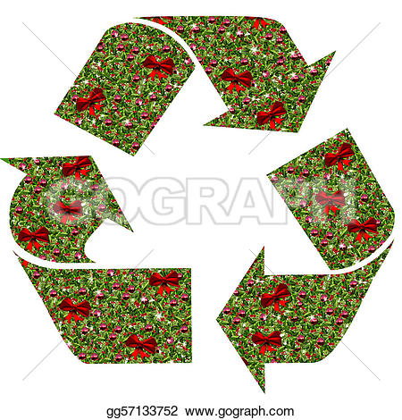 Holley clipart christmas spirit Gg57133752 Clipart Clipart recycle symbol