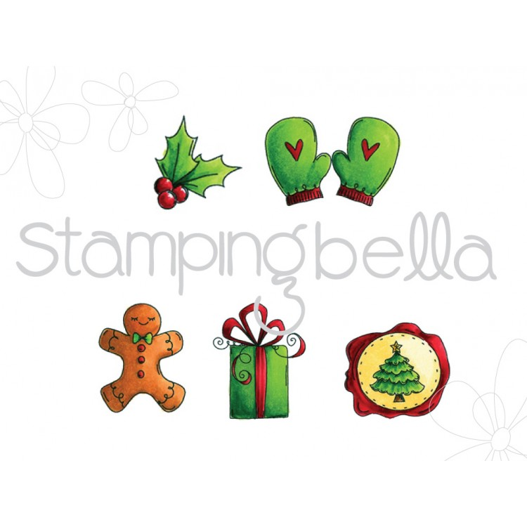 Holley clipart christmas spirit 6 stamps!) (includes Christmas Spirit