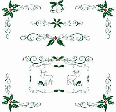 Holley clipart christmas spirit Free vector holly Christmas vector