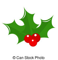 Holley clipart christmas symbol 845 and illustration 29