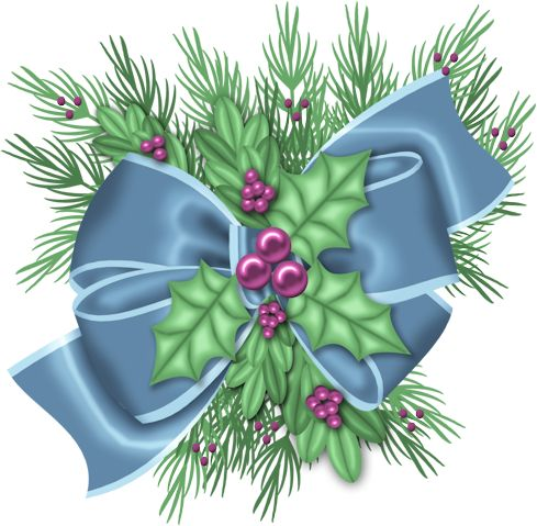 Holley clipart christmas things Find and Pin this images