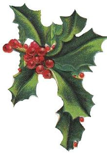 Holley clipart christmas things Find and Pin this Holiday