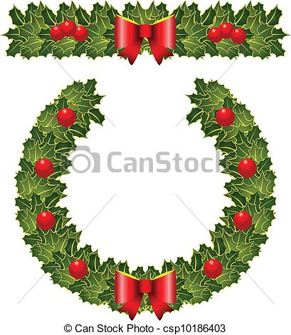 Holley clipart christmas wreath Images Clipart Panda Clipart Free