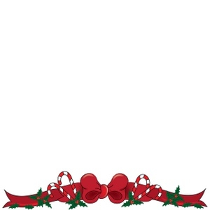 Holley clipart corner border Com com Christmas Clipart Corner