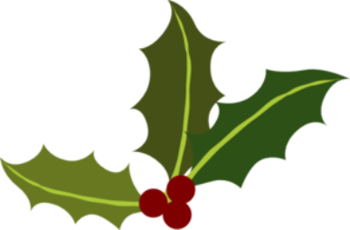 Holydays clipart transparent Holly christmas  Art Clip