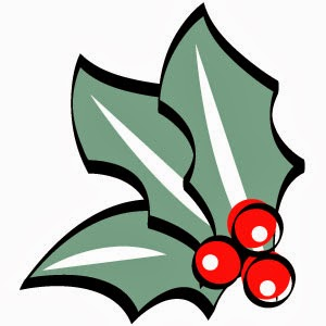 Holley clipart festive Holly Christmas Clip Clipart ~