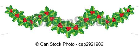 Holley clipart garland Clipart Free Download Garlands Holly