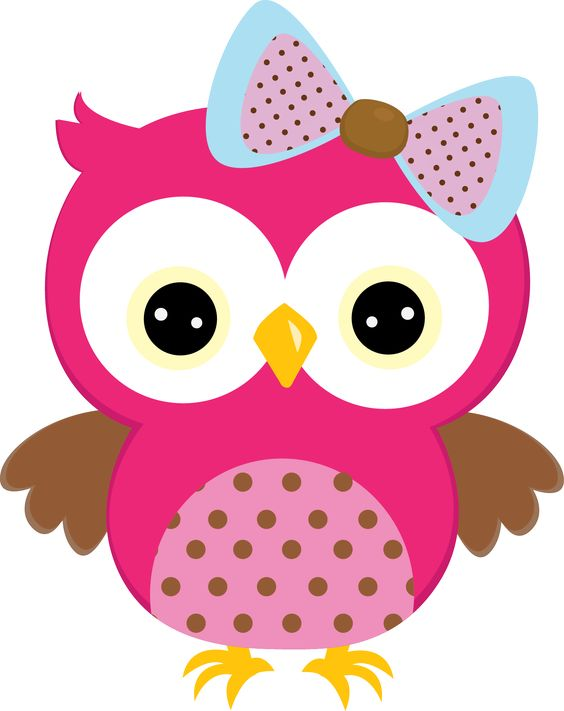 Holley clipart google image Buscar png owl con pink