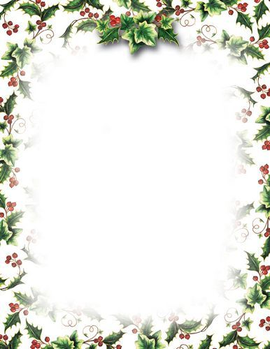 Holley clipart google image Paper christmas Search stationery free