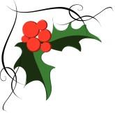 Holley clipart holiday Holly Holly Clipart  Festivel