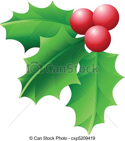 Holley clipart holiday  csp5209419 A of and