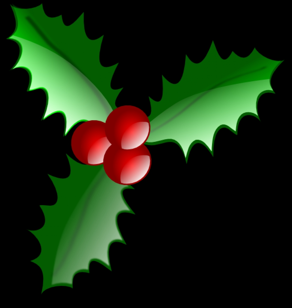 Holley clipart holiday Holiday 10 Holly Free PNG