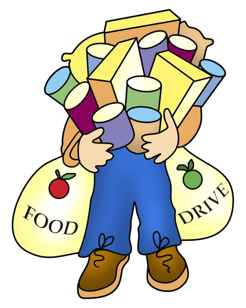 Holley clipart holiday food drive Food & PTO Drive Sharing